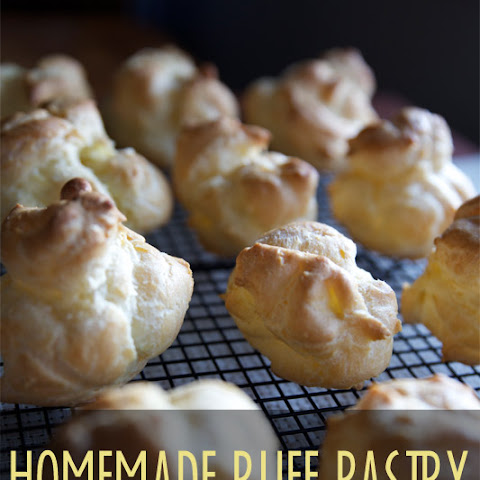 Homemade Puff Pastry