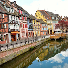Colmar, France by Tyrell Heaton - City,  Street & Park  Street Scenes