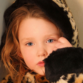 Thoughts of Winter by Cheryl Korotky - Babies & Children Child Portraits