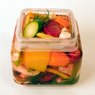 Italian Pickled Vegetable Medley