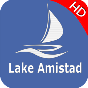 Lake Amistad Offline GPS Nautical charts For PC