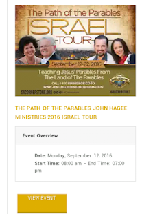 John Hagee Live - screenshot