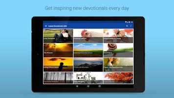 Screenshot of Daily Devotionals