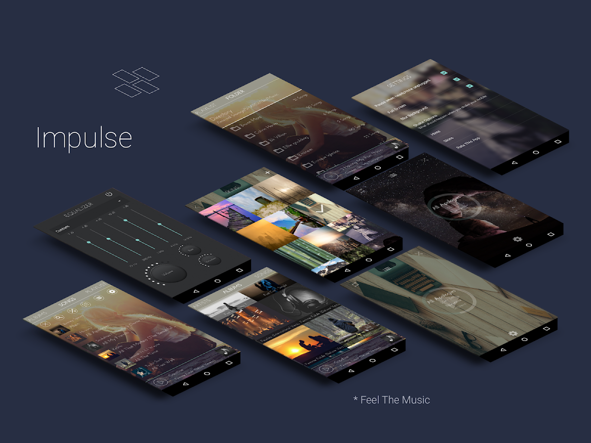 Impulse Music Player Pro Screenshot 0