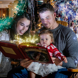 Storytime by Elk Baiter - Public Holidays Christmas ( adams, story, family, fairy, christmas, sparkle, portrait,  )