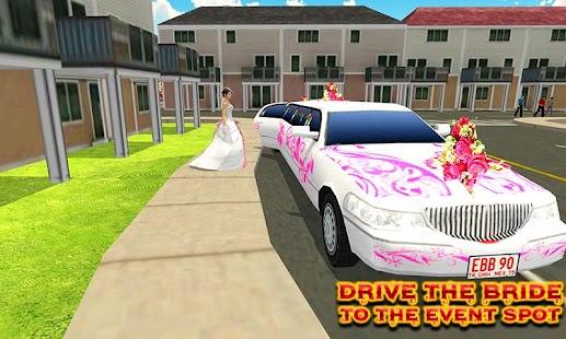 Stadt Braut Limousine Auto Simulator android spiele download