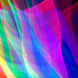Sheets of color by Jim Barton - Abstract Patterns ( sheets, laser light, colorful, light design, color, laser design, laser, laser light show, sheets of color, light, science )