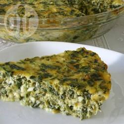Quick Spinach Quiche