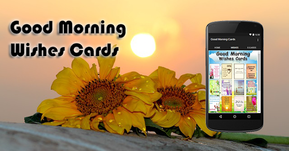 Good Morning Wishes Cards - screenshot