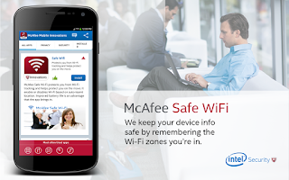 Screenshot of McAfee Security Innovations