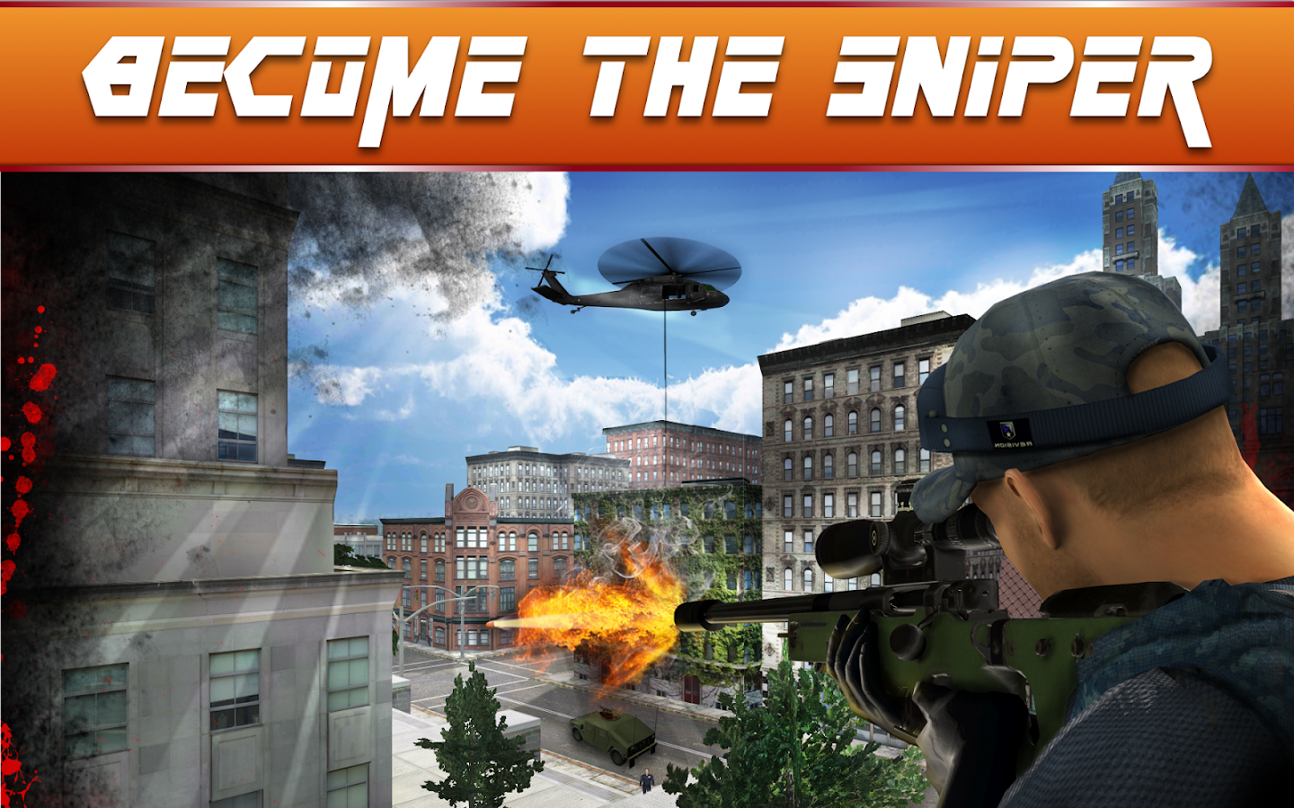 Sniper Ops - 3D Shooting Game Screenshot 0