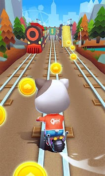 Cat Rush - Subway & Bus Run APK screenshot thumbnail 2