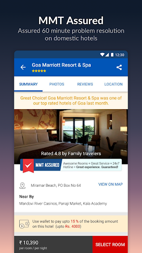 MakeMyTrip-Flights Hotels Cabs IRCTC Rail Bookings screenshot 5