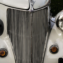 Car Show by Melissa Culp - Transportation Automobiles ( engine, cars, carshow, frontend, oldtimers )