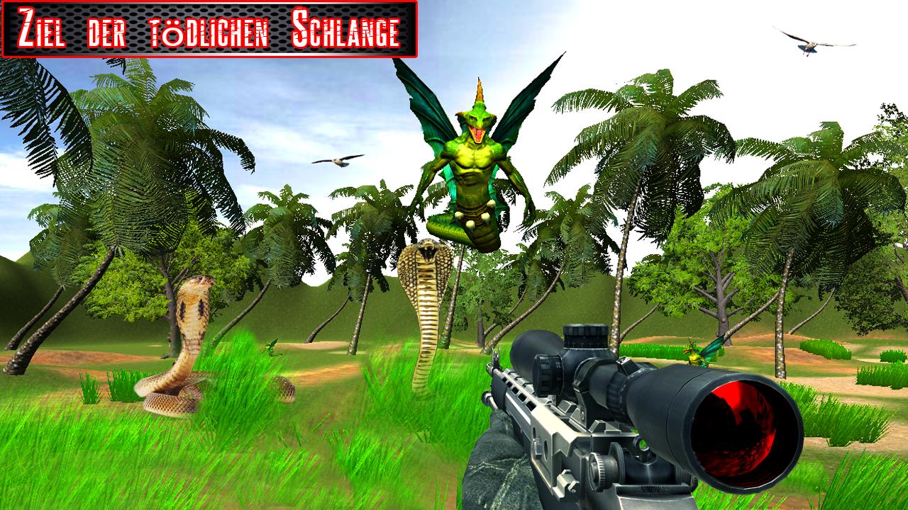 Tödlicher Scharfschütze Schlange Shooter android spiele download