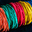 colourful rubber bands by Luz UK - Artistic Objects Other Objects ( colourful, rubberband,  )