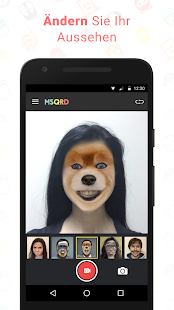 MSQRD Screenshot