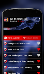 Quit Smoking Secrets - screenshot