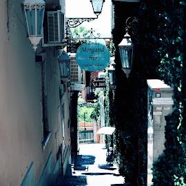 Bar Morganda by John Bonanno - City,  Street & Park  Street Scenes