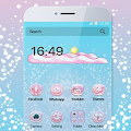 APK App Pink Glow Theme for BB, BlackBerry