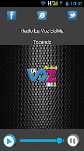 Radio La Voz Bolivia - screenshot