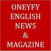 Oneyfy English News & Magazine-All in One News App