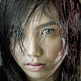 Wet by Thirdee Balleras - People Portraits of Women