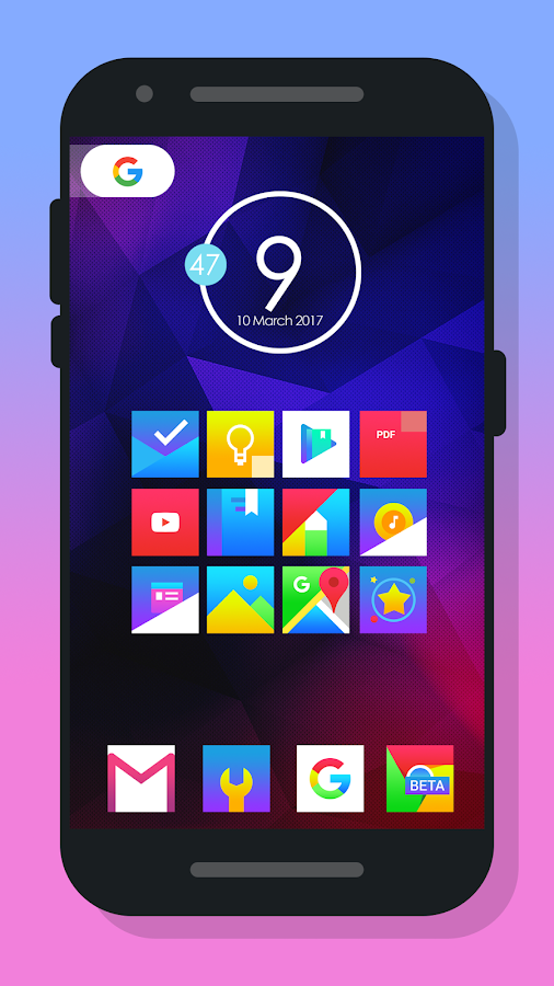 Rocsy Platz - Icon Packung android apps download