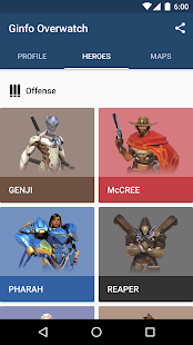 Ginfo for Overwatch - screenshot
