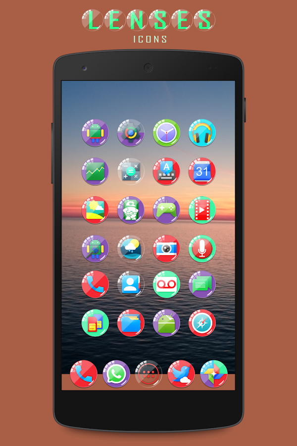 Lenses Icon Pack Screenshot 4