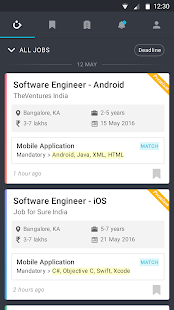 Job for Sure: IT Jobs & Career - screenshot