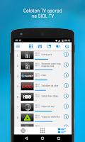 Screenshot of BOX Daljinec