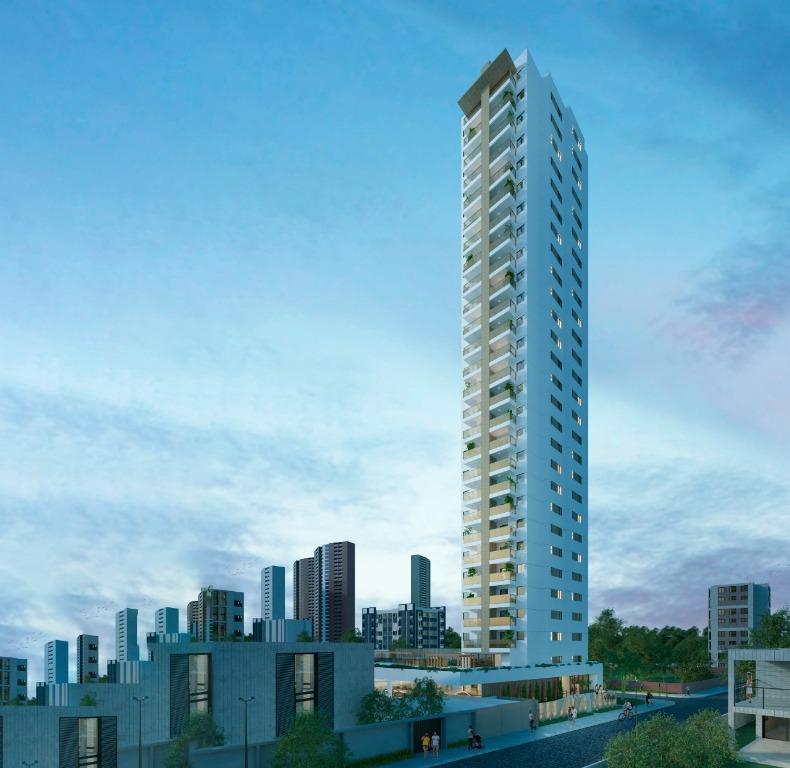 Apartamento com 3 dormitórios à venda, 81 m² por R$ 489.000,00 - Manaíra - João Pessoa/PB
