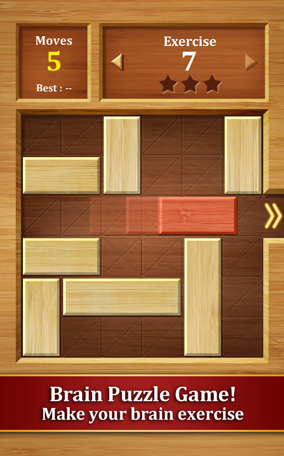 Move the Block : Slide Puzzle Screenshot 1