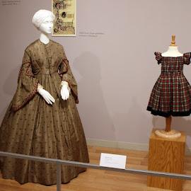 Civil War Era Fashion by Christine B. - Artistic Objects Clothing & Accessories ( child's wordrobe, fashion, dress, kent state u. fashion museum, women,  )