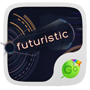 Futuristic GO Keyboard Theme