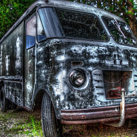 Old Truck by Chris Cavallo - Transportation Automobiles ( old car, rusty, rust, old truck, new hampshire, decay, abandoned )