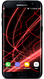 Flow Particles 3D Live Wallpaper Screenshot