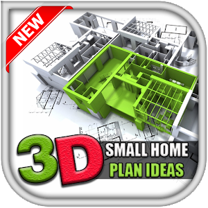 3D Small Home Plan Ideas