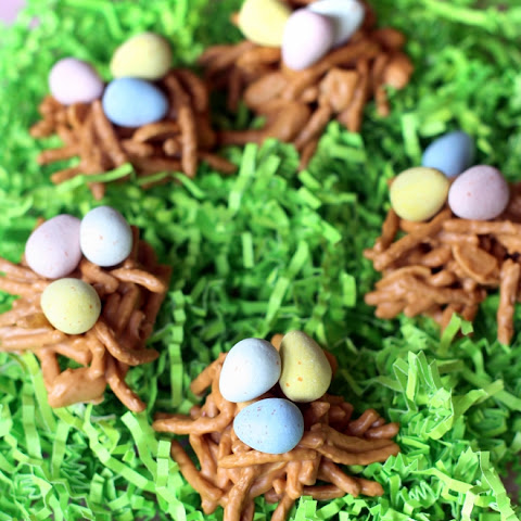 Sweet Easter Birds' Nests!
