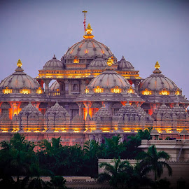 Akshadham Temple, New Delhi by Vishnu Agrawal - Buildings & Architecture Places of Worship ( new delhi, akshadham temple )