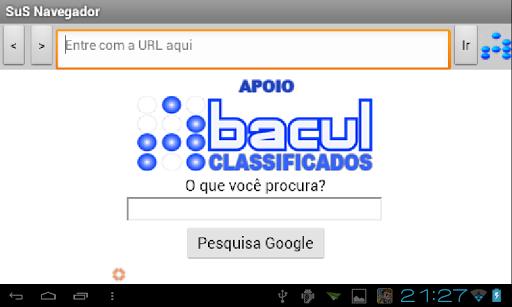 SuS Navegador screenshot 5
