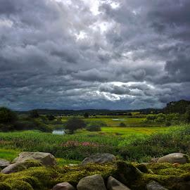 wiew by Poul Erik Vistoft Nielsen - Landscapes Cloud Formations ( wiew, nature, denmark, landscape, clauds )