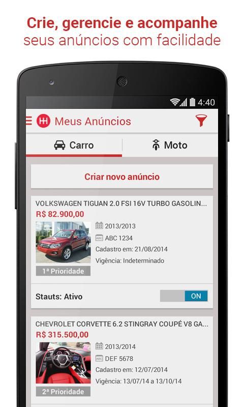 Webmotors - Comprar e Vender Screenshot 3
