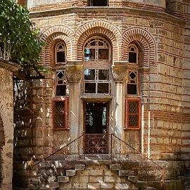 Hilandar by Zoran Mrđanov - Buildings & Architecture Architectural Detail ( church, door,  )