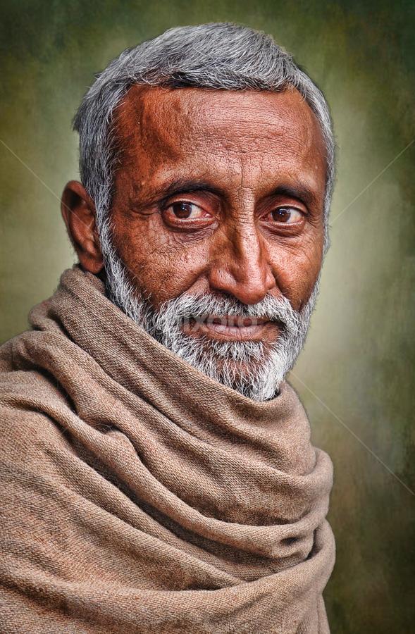 AFGAN by Angelito Cortez - People Portraits of Men ( old, portrait, man )