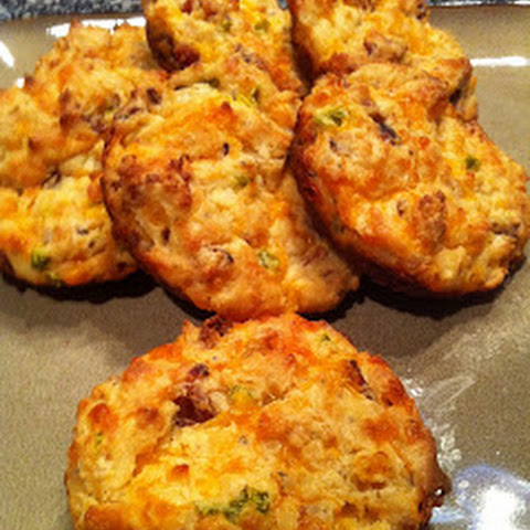 Cheddar Jalapeno Bacon Biscuits – Low Carb, Gluten Free