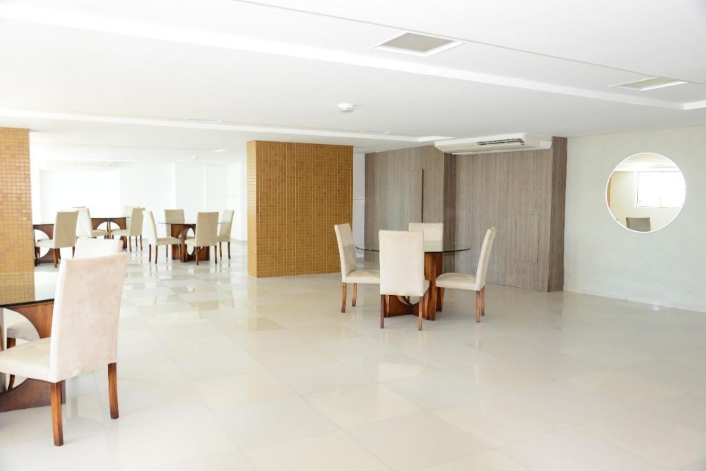 Apartamento com 2 dormitórios à venda, 58 m² por R$ 375.000 - Manaíra - João Pessoa/PB