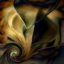 BE MY LIGHT by Carmen Velcic - Digital Art Abstract