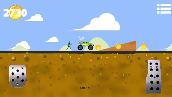 Zombie Hill Climb Flappy Race - screenshot